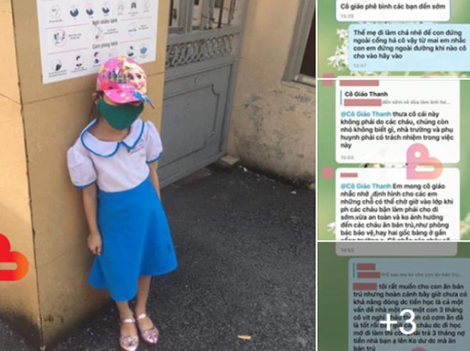 Hải Phòng: Đi học sớm 15 phút, học sinh lớp 1 bị cô giáo phê bình, bắt đứng đợi giữa trời nắng - Ảnh 1