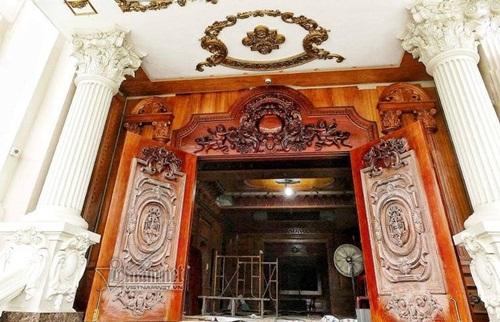 """Choáng ngợp với độ xa hoa tại lâu đài """"Lan Khoa Khuê"""" mang phong cách Hy Lạp của đại gia Nam Định - Ảnh 6"""