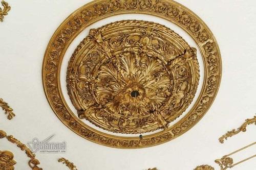 """Choáng ngợp với độ xa hoa tại lâu đài """"Lan Khoa Khuê"""" mang phong cách Hy Lạp của đại gia Nam Định - Ảnh 7"""