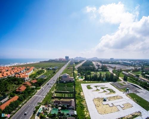 Cận cảnh các lô đất có yếu tố doanh nghiệp Trung Quốc dọc khu đô thị ven biển Đà Nẵng - Ảnh 2