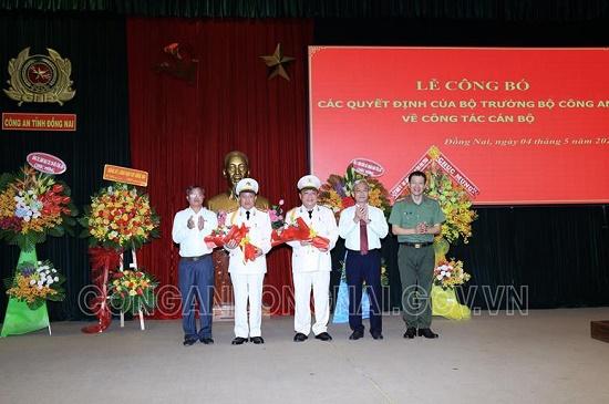 Bổ nhiệm 2 Phó giám đốc Công an tỉnh Đồng Nai - Ảnh 1