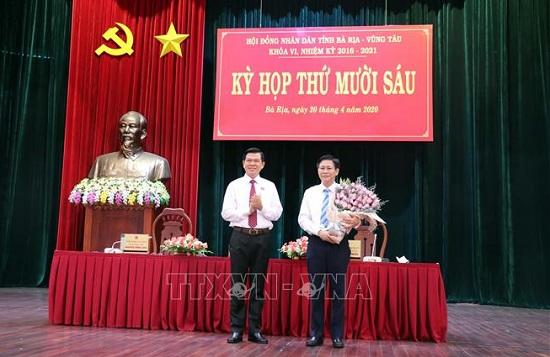 Phê chuẩn Phó Chủ tịch UBND tỉnh Bà Rịa - Vũng Tàu - Ảnh 1