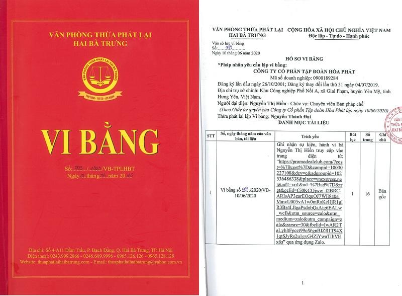 Hòa Phát bác thông tin Chủ tịch Trần Đình Long đầu tư bitcoin lan truyền trên hệ thống quảng cáo của Google - Ảnh 1