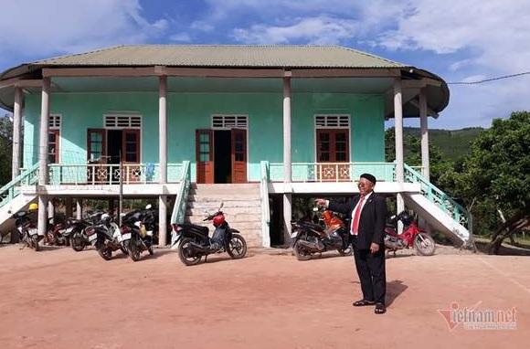 Già làng hiến hàng nghìn m2 đất xây dựng nông thôn mới - Ảnh 1