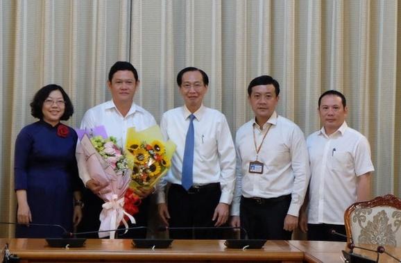 Phó Chủ tịch UBND quận 1 nhận công tác tại Tổng Công ty Nông nghiệp Sài Gòn - Ảnh 1