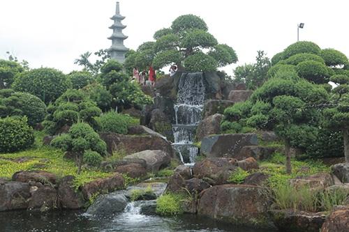 """Choáng ngợp với cây sung """"Long mã hồi đầu"""" tiền tỷ nằm trên đỉnh núi đá quý nhân tạo của đại gia Thái Nguyên - Ảnh 1"""