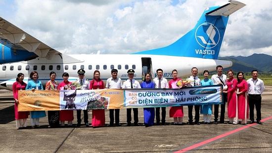 Vietnam Airlines khai trương hai đường bay mới Điện Biên-Hải Phòng, Đà Lạt-Phú Quốc - Ảnh 1