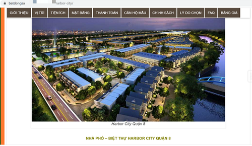 TP.HCM: Cảnh giác với rao bán dự án Harbor City tại cảng Phú Định - Ảnh 1