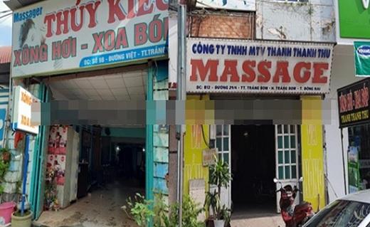 """Đồng Nai: Bắt quả tang nhân viên quán massage """"không mảnh vải che thân"""" khi """"phục vụ"""" khách - Ảnh 1"""