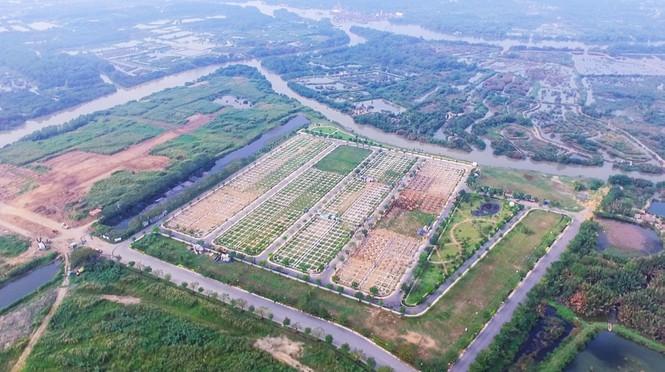 """""""Soi"""" tài chính Công ty Vạn Phát Hưng vừa bị """"bêu tên"""" xây """"vụng"""", bán """"chui"""" 370 nền đất tại Khu dân cư Nhơn Đức - Ảnh 1"""