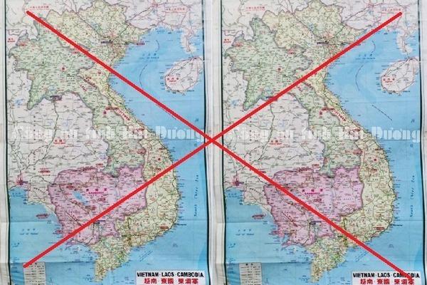 """Hải Dương: Phát hiện 4 doanh nghiệp có người Trung Quốc treo bản đồ """"đường lưỡi bò"""" - Ảnh 1"""