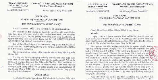 """TAND TP Hà Nội """"bác"""" khiếu nại về quyết định cấm chuyển dịch 14 biệt thự tại """"đất vàng"""" Cầu Giấy - Ảnh 2"""