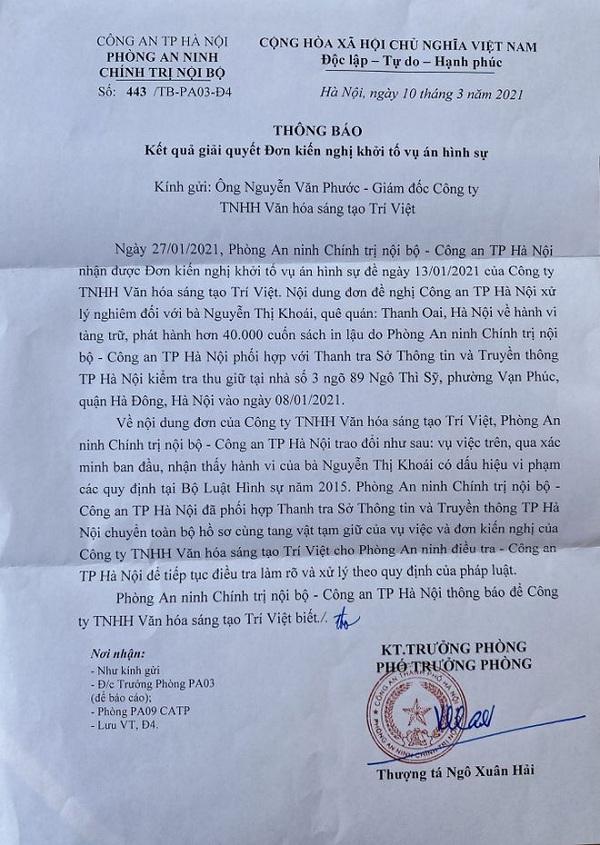 Vụ phát hiện kho sách giả lớn nhất từ trước đến nay ở Hà Nội: Chuyển cơ quan điều tra - Ảnh 2