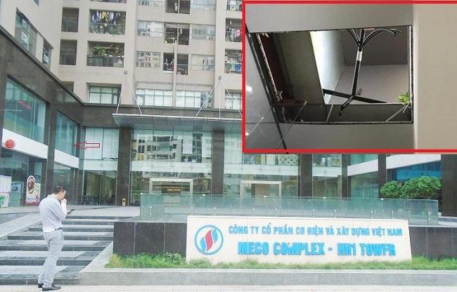 Chủ đầu tư chung cư Meco Complex vừa bị sập trần tầng 2 là ai? - Ảnh 1