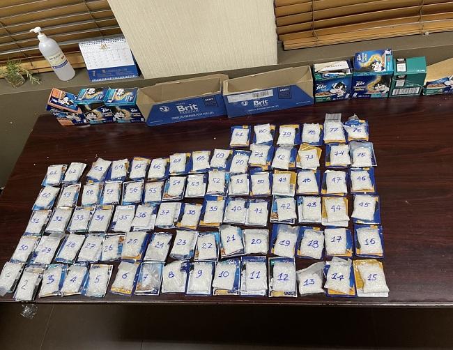 """Gần 4kg ma túy tổng hợp giấu trong các gói thức ăn cho mèo """"chờ"""" xuất khẩu đi Đài Loan - Ảnh 1"""