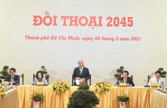 TỔNG THUẬT: Việt Nam 2045: Bức tranh đẹp ai cũng có cơ hội đặt nét vẽ lên - Ảnh 1