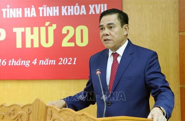 Thủ tướng phê chuẩn ông Võ Trọng Hải giữ chức Chủ tịch UBND tỉnh Hà Tĩnh - Ảnh 1