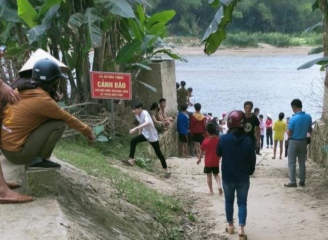 Nam sinh lớp 9 tử vong khi đi tắm sông cùng nhóm bạn - Ảnh 1