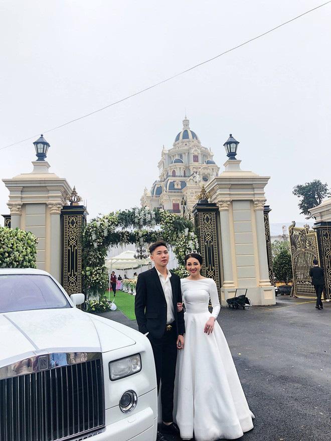 """Lâu đài """"tiền tấn"""" của cô dâu Nam Định được tặng 200 cây vàng - Ảnh 3"""