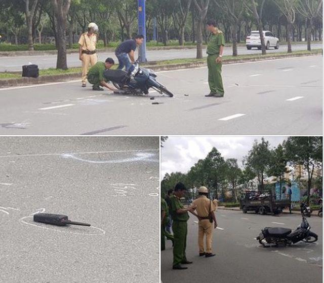 Vụ Thiếu tá CSGT bị tông trọng thương: Người lái xe máy có nồng độ cồn cao - Ảnh 2