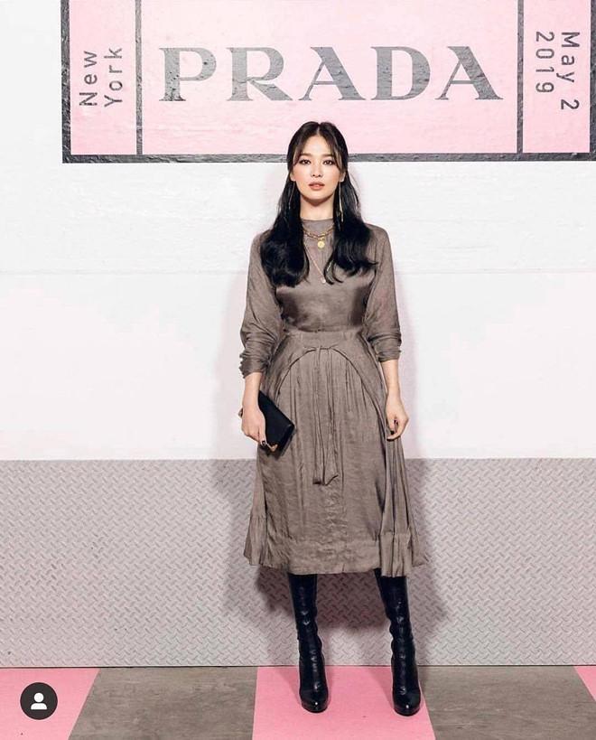 Sau ly hôn, Song Hye Kyo trang điểm đẹp lạ làm người hâm mộ khen ngợi hết lời - Ảnh 5