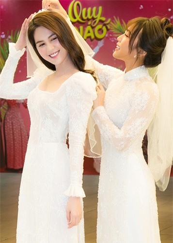 Ngọc Trinh diện váy cưới đẹp lộng lẫy gây bất ngờ - Ảnh 2