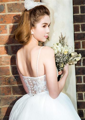 Ngọc Trinh diện váy cưới đẹp lộng lẫy gây bất ngờ - Ảnh 7