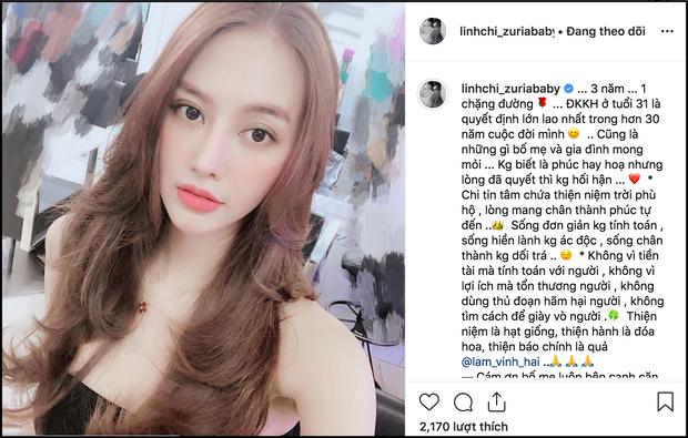 Linh Chi xác nhận đã đăng ký kết hôn ở tuổi 31 - Ảnh 1