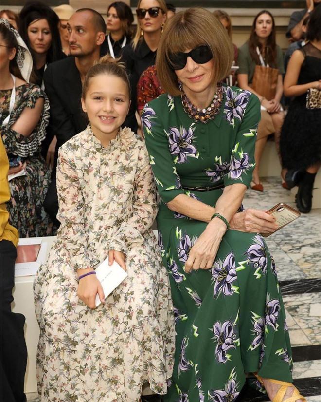 Con gái út Harper Beckham thần thái bất ngờ sau 7 tháng - Ảnh 2