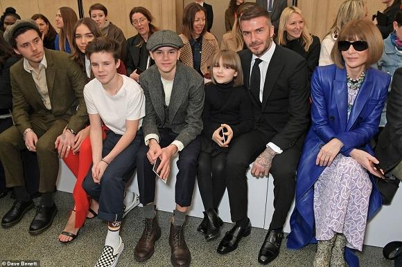 Con gái út Harper Beckham thần thái bất ngờ sau 7 tháng - Ảnh 4