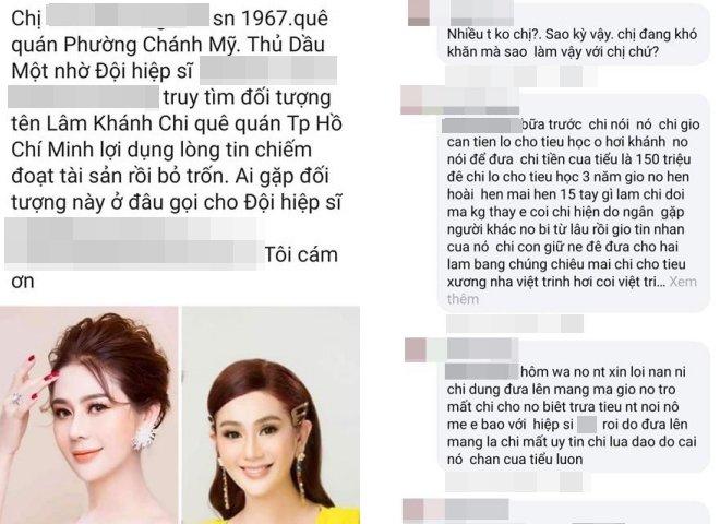 Bức xúc vì bị tố lừa đảo 150 triệu đồng, Lâm Khánh Chi livestream vạch trần sự thật - Ảnh 1