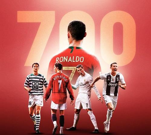 Cristiano Ronaldo chạm mốc 700 bàn thắng sau 974 lần ra sân - Ảnh 1