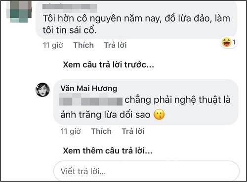 """Văn Mai Hương: """"Chẳng phải nghệ thuật là ánh trăng lừa dối sao"""" - Ảnh 2"""