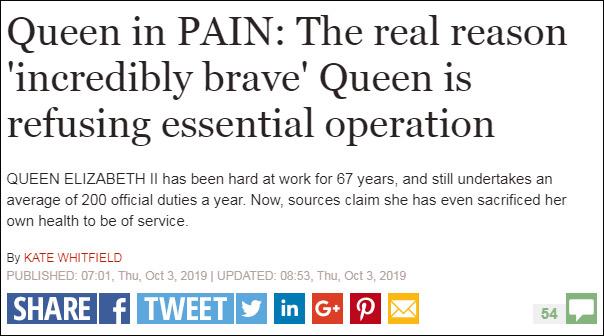 Sức khỏe Nữ hoàng Anh Elizabeth II chuyển biến xấu, hiện giờ rất khó đi lại - Ảnh 1