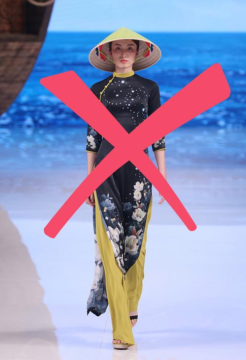 NTK Trung Quốc 'ăn cắp' áo dài Việt Nam, tuyên bố 'sáng tạo - cách tân' - Ảnh 3