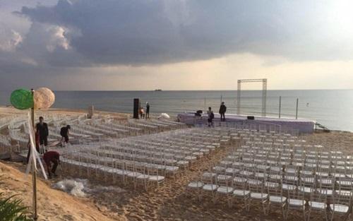 Tin tức giải trí mới nhất ngày 9/11: Tiệc cưới lộng lẫy của Đông Nhi và Ông Cao Thắng tại Phú Quốc - Ảnh 1