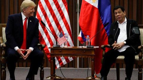 Tổng thống Philippines thẳng thừng từ chối lời mời thăm Mỹ của ông Trump - Ảnh 1