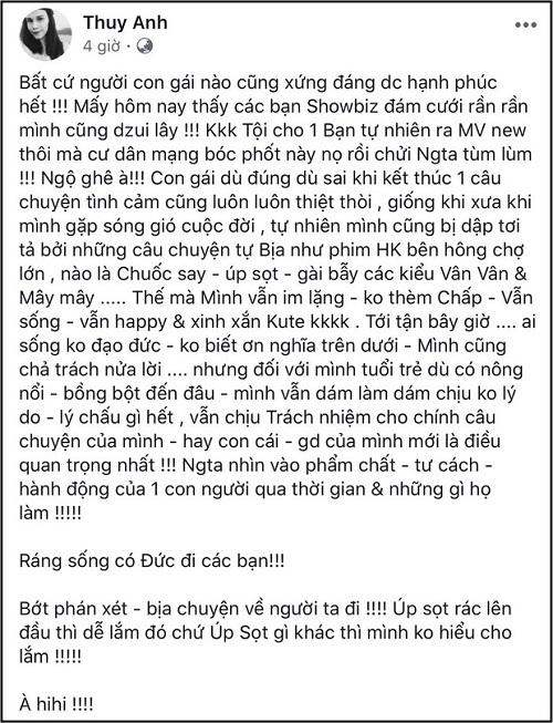 """Em gái Thanh Thảo bất ngờ nhắc lại scandal """"có con riêng"""" với Ngô Kiến Huy 7 năm trước - Ảnh 2"""