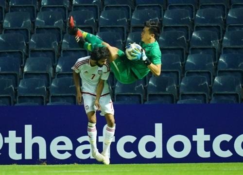 Thủ môn Bùi Tiến Dũng dính chấn thương vai, khả năng ra sân trận gặp U23 Jordan bỏ ngỏ - Ảnh 2