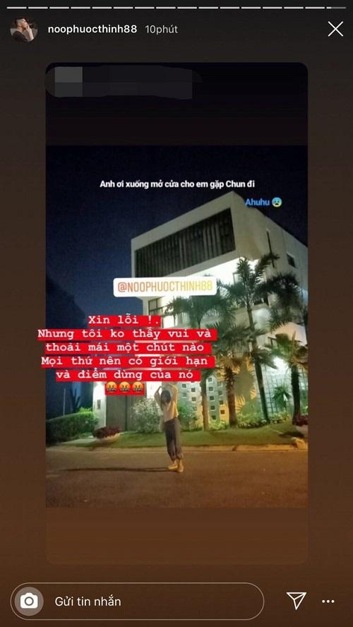 """Fan cuồng đến tận nhà """"check in"""" lúc nửa đêm khiến Noo Phước Thịnh bức xúc - Ảnh 1"""