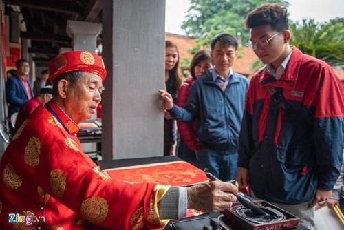 Xin chữ đầu Xuân - Nét đẹp văn hóa của người Việt - Ảnh 7