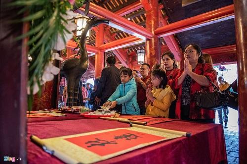 Xin chữ đầu Xuân - Nét đẹp văn hóa của người Việt - Ảnh 9