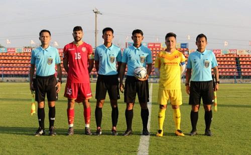 Đình Trọng trở lại, U23 Việt Nam nhận thất bại tiếc nuối trong trận đấu kín với U23 Bahrain - Ảnh 1