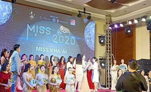 """Tin tức giải trí mới nhất ngày 6/1: Kiểm tra đột xuất, phát hiện cuộc thi hoa hậu """"chui""""  Miss Global Her Beauty - Ảnh 1"""
