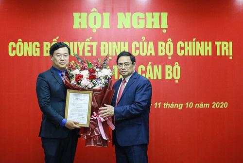 Ông Lê Quốc Phong được giới thiệu để bầu làm Bí thư Tỉnh ủy Đồng Tháp - Ảnh 1