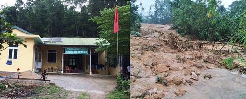 Vụ sạt lở Thủy điện Rào Trăng 3: Cận cảnh hiện trường Trạm bảo vệ rừng 67 bị vùi lấp hoàn toàn - Ảnh 5