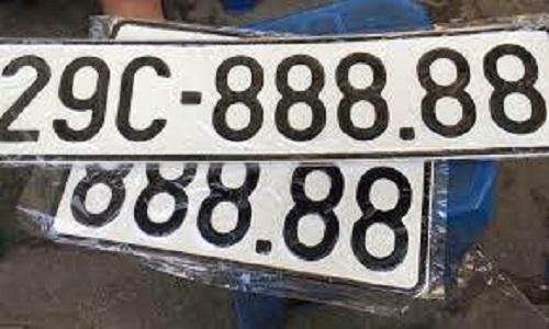 Đề xuất đấu giá biển số xe không mất phí, biển số đã đấu giá là tài sản cá nhân - Ảnh 1