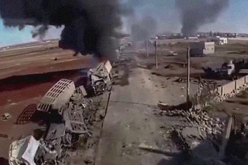 Tình hình chiến sự Syria mới nhất ngày 22/10: Nga dùng bom dẫn đường hủy diệt phiến quân - Ảnh 4