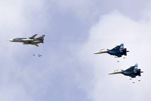 Tình hình chiến sự Syria mới nhất ngày 23/10: Không quân Nga dồn dập oanh kích khủng bố HTS tại Syria - Ảnh 1