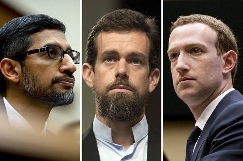 3 CEO của Facebook, Twitter và Google sắp phải ra điều trần trước Thượng viện Mỹ - Ảnh 1